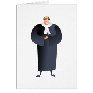 Barrister Greeting Card