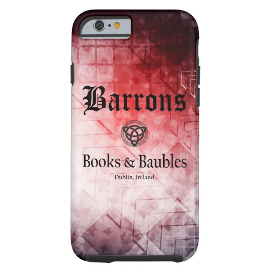 Barrons Books and Baubles iPhone 6/6s, Tough Case