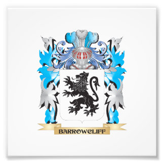 Barrowcliff Coat of Arms Art Photo