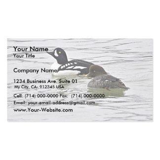 Barrow's Goldeneye Pair Pack Of Standard Business Cards