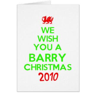 Barry Christmas 2010 Cards