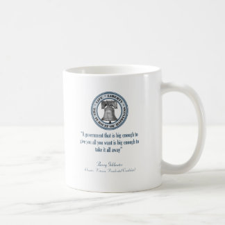 Barry Goldwater Quote (Big Government) Coffee Mug