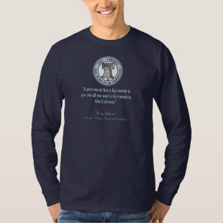 Barry Goldwater Quote (Big Government) T-Shirt