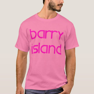 Barry IslandPinkLge T-Shirt