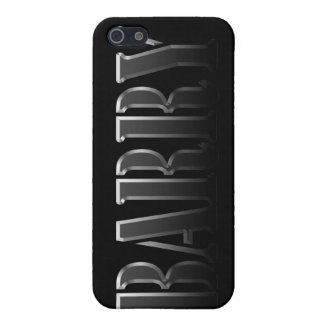 BARRY Name Branded iPhone Cover iPhone 5 Covers