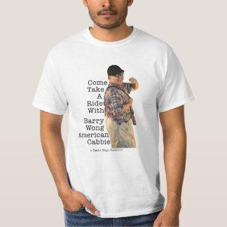 Barry Wong American Cabbie T-Shirt