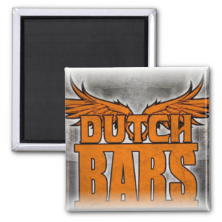 Bars logo refrigerator magnet