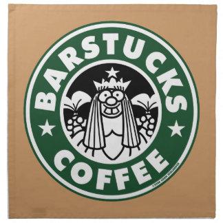 Barstucks Coffee Printed Napkins