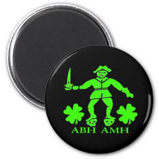 Bart Roberts #1-Shamrock 6 Cm Round Magnet