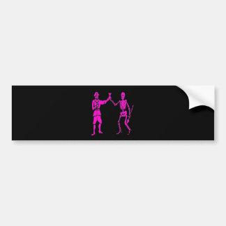 Bart Roberts #2-Pink Bumper Sticker