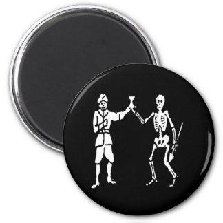 Bart Roberts #2-White 6 Cm Round Magnet