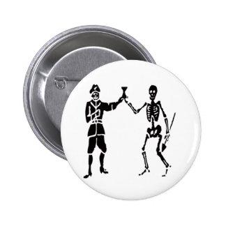 Bart Roberts-Black 6 Cm Round Badge