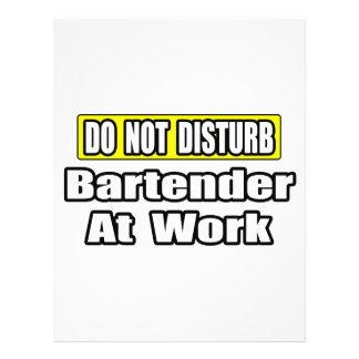 Bartender At Work 21.5 Cm X 28 Cm Flyer