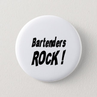 Bartenders Rock! Button