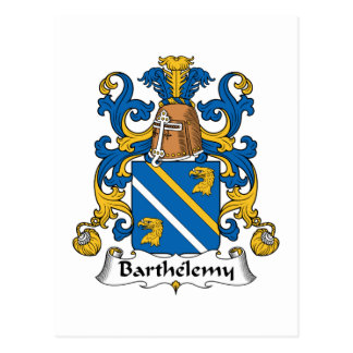 Barthelemy Family Crest Post Cards