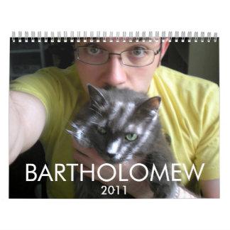 Bartholomew 2011 calendars
