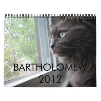 BARTHOLOMEW 2012 WALL CALENDARS
