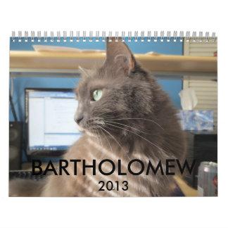Bartholomew 2013 calendars