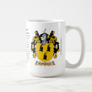 Bartholomew name, the Origin, the Meaning and the Coffee Mug
