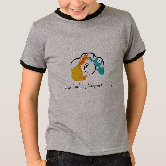 Bartlam Photography Kids' Basic Ringer T-Shirt