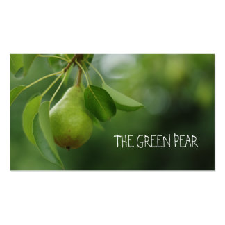 Bartlett Pear Pack Of Standard Business Cards