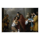 Bartolome Esteban Murillo-Return of the Prodigal Poster