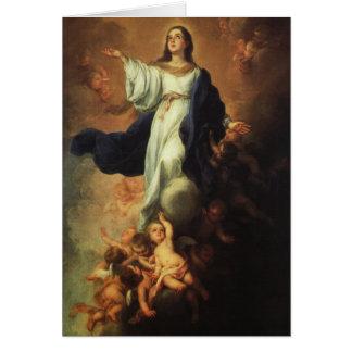 Bartolome Murillo - Assumption of the Virgin Greeting Card