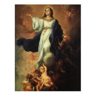 Bartolome Murillo - Assumption of the Virgin Postcard