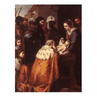 Bartolome Murillo - The Adoration of the Magi Postcard