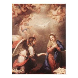 Bartolome Murillo - The Annunciation Postcard