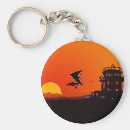 Barton Airport Microlight key ring