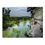 Barton Creek Cliffs - Austin Texas Postcard