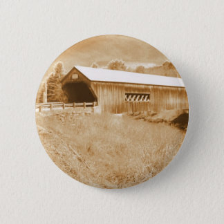 Bartonsville Covered Bridge 6 Cm Round Badge