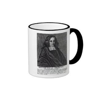 Baruch de Spinoza Ringer Mug
