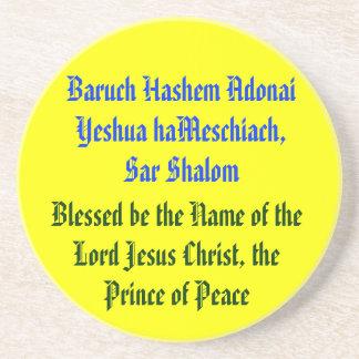 Baruch Hashem Adonai Yeshua haMeschiach,.. Coaster