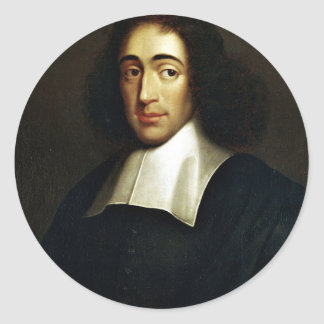 Baruch Spinoza Round Sticker