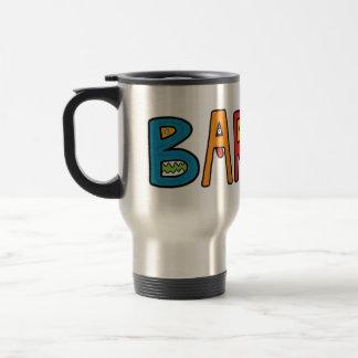 """""""Barun"""" Monster Letters Mug"""