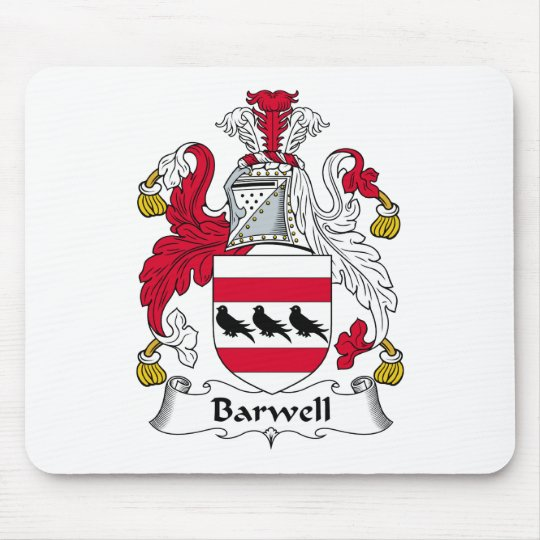 Barwell Family Crest Mouse Mat
