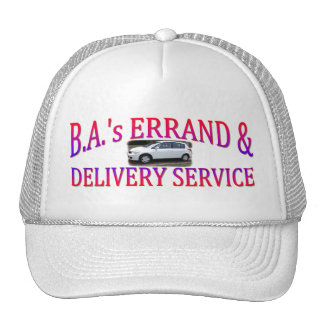 BA's Errand & Delivery Service Mesh Hat