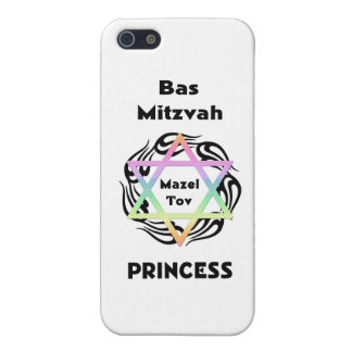 Bas Mitzvah Princess Cover For iPhone 5/5S