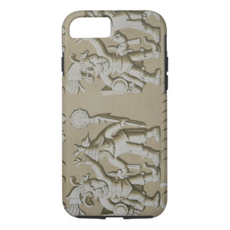 Bas Relief of Ancient Aztec Warriors, from The Sto iPhone 8/7 Case