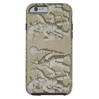 Bas Relief of Ancient Aztec Warriors, from The Sto Tough iPhone 6 Case