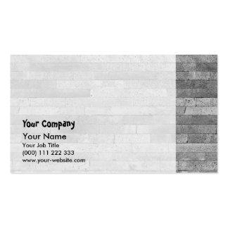 Basalt brick wall pack of standard business cards