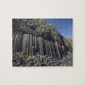 Basalt Columns by Fingal's Cave, Staffa, off Jigsaw Puzzle