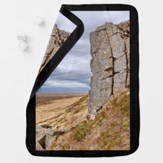 Basalt columns in Gerduberg Iceland Baby Blanket