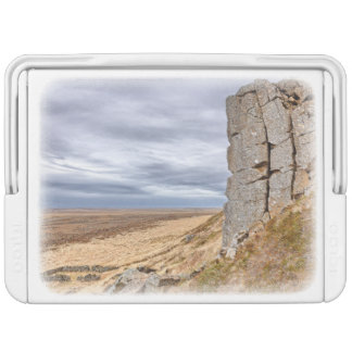 Basalt columns in Gerduberg Iceland Igloo Cool Box