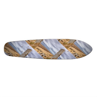 Basalt columns in Gerduberg Iceland Skate Board Decks