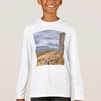 Basalt columns in Gerduberg Iceland T-Shirt