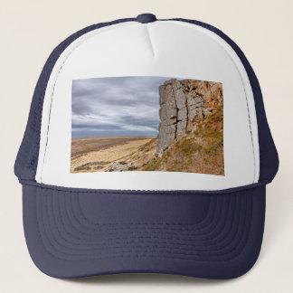 Basalt columns in Gerduberg Iceland Trucker Hat