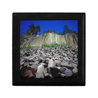 Basalt Formations of Devils Postpile Gift Box
